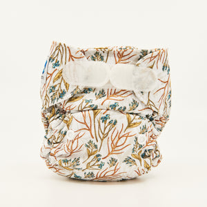 Golden Blue-m | Newborn Cloth Nappy