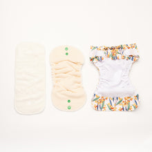 Load image into Gallery viewer, Wattling Along | Newborn Cloth Nappy