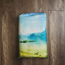 Load image into Gallery viewer, autumn everything mat in storage bag
