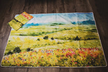 Load image into Gallery viewer, autumn everything picnic mat laid flat