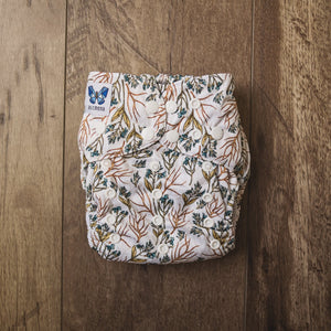 V1.5 | Pocket Nappy - Golden Blue-M