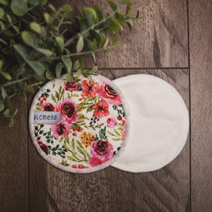 reusable breast pads front and back
