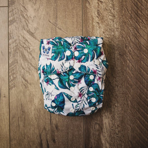V1.5 | Pocket Nappy - Jungle Fern