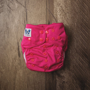 V1.5 | Pocket Nappy - Nihgenta Pink