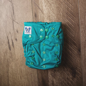 V1.5 | Pocket Nappy - Celesteal Green