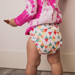 Geometric | AI2 Reusable Cloth Nappies | V1.5 OSFM Pocket Nappy