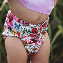 Load image into Gallery viewer, V1.5 | Pocket Nappy - Bums N' Roses