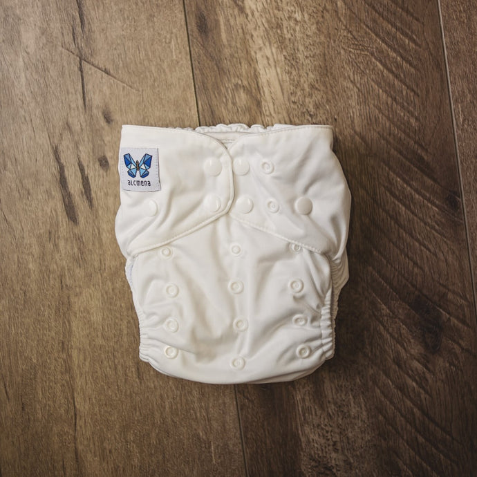 [PREORDER] V1.5 | Pocket Nappy - Clara-ty White