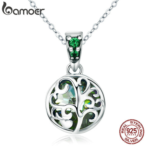 925 Sterling Silver Tree of Life Petit Necklace