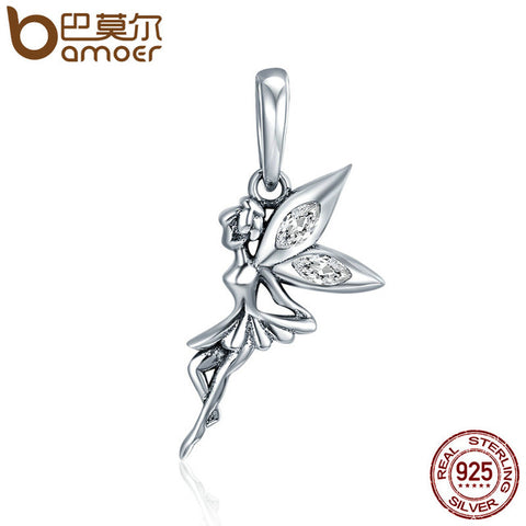 Sterling Silver Petit Fairy Pendant
