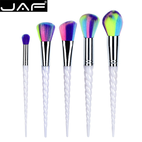 5Pcs Unicorn Makeup Brush Set