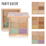 Party Queen Oil-free 6 Colors Correcting Contour Palette