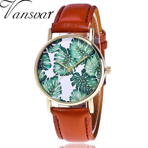 Tropical Forest Wrist Watch