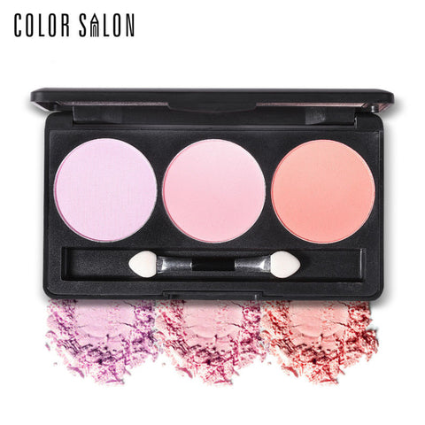 Color Salon Silky Cheek Blush Palette
