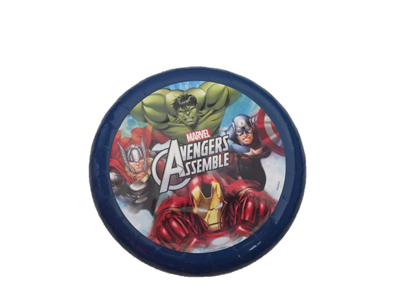 Marvel Avengers Assemble Frisbee Flying Disc with The Incredible Hulk, Iron Man, Captain America and Thor