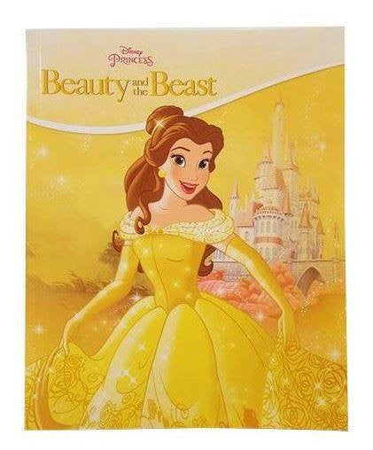 Soft Cover Books -  Disney Princess Beauty And The Beast Book