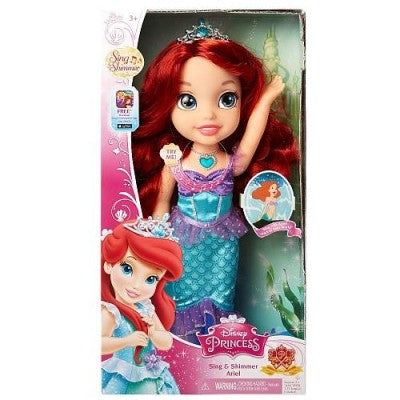 Disney Princess Sing and Shimmer Ariel Doll