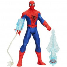 Hasbro Triple Attack Spiderman Figure- spiderman