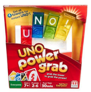 Games- Uno Power Grab Game