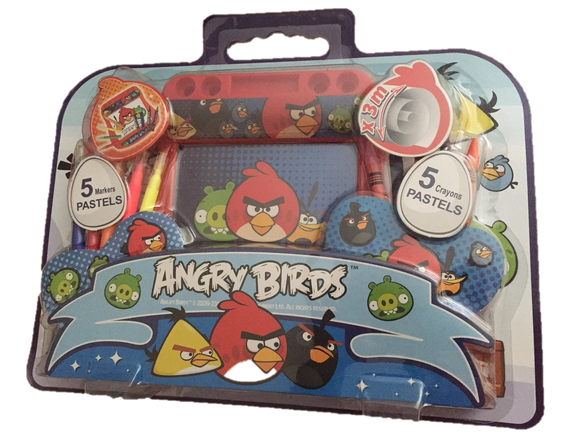 Angry Birds Arts Colouring Set
