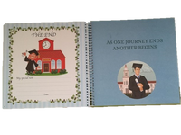 Baby Boy Record Book Journal