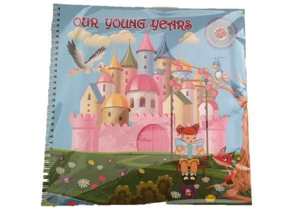 Baby Girl Journal Record Book
