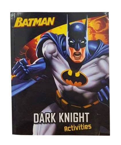 Soft Cover Books - Batman Dark Knight Activities  Book