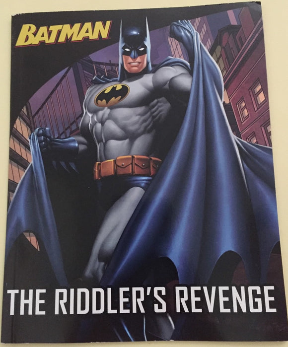 Soft Cover Books - Batman The Riddlers Revenge Book