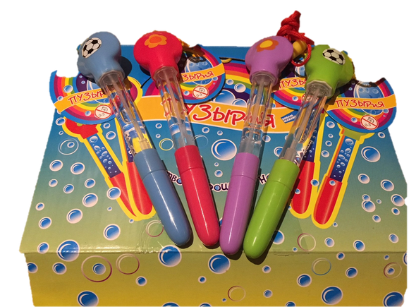 Bubble Wands - with Soccer Ball Only