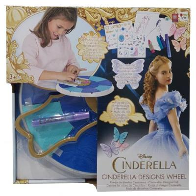 Disney Cinderella Designs Wheel - Colouring