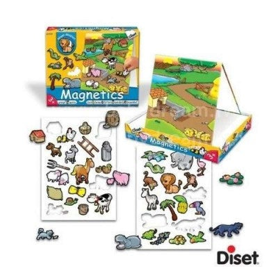 Dieset Animal Magnetics - Farm Set -  Magnets