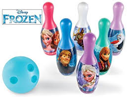 Disney Frozen Bowling Set Game