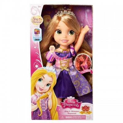 Disney Princess Sing and Shimmer Rapunzel Doll