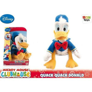 Disney Mickey Clubhouse Quack Quack Donald - Plush -  Donald Duck