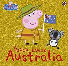 Peppa Loves Australia Book
