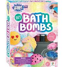 Zap DIY Bath Bombs