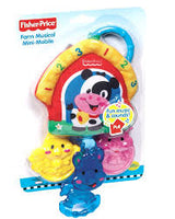 Fisher Price Farm Musical Mini-Mobile