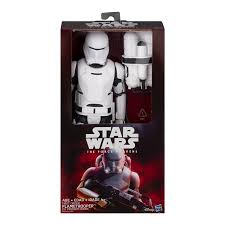 Star Wars The Force Awakens First Order Flametrooper - Damaged Stock