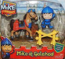 Fisher Price Mike The Knight - Mike and Galahad Figure Pack
