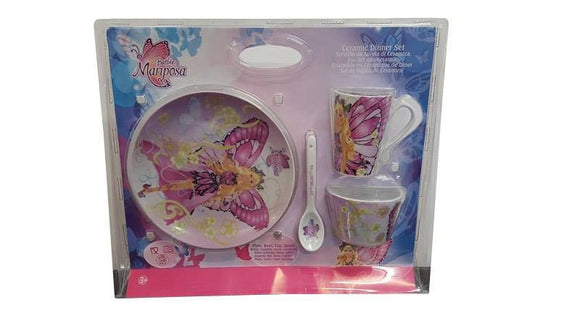 Barbie Mariposa Ceramic Dinnerset