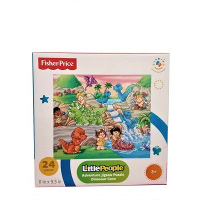 Fisher-Price Little People Adventure Jigsaw Puzzle- Dinosaur Cove