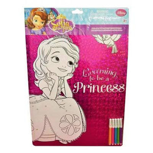 Foil Colouring Sheet- Sofia The First
