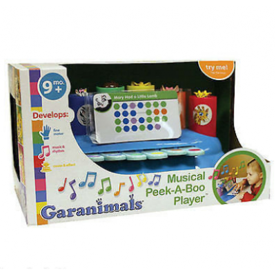 Garanimals Musical Peek a Boo Player for Baby - Damaged Stock