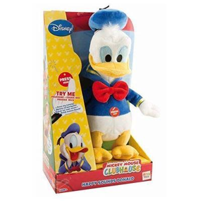 Disney Mickey Mouse Clubhouse Happy Sounds Plush Donald