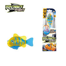 Zuru Robo Fish Tropical Fish Artificial Robot Pet Toy ( fish , water , robo , pet)