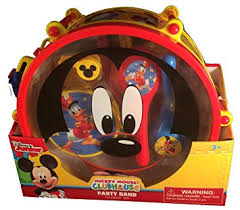 Mickey Mouse Party Band ( mickey mouse music drum set )