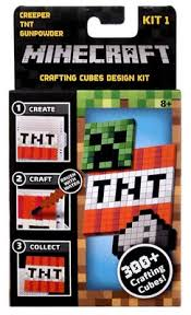 Minecraft Mini Crafting Cube Designs Kit - Kit 1