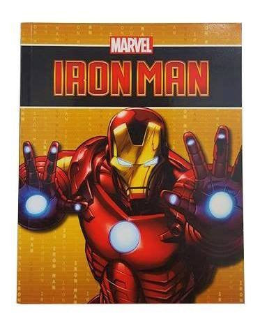 Soft Cover Books - Marvel Iron Man Book
