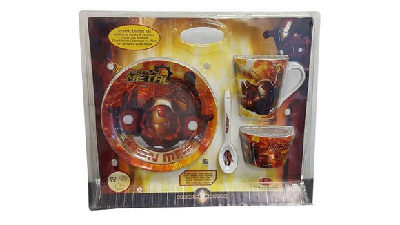 Iron Man Ceramic Dinner Set