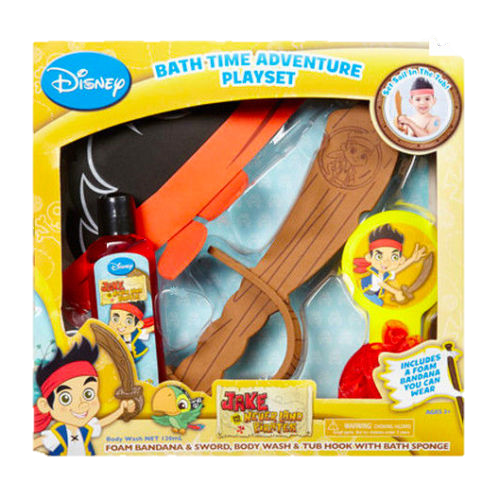 Disney Bath Time Adventure Playset Jake and the Never Land Pirates